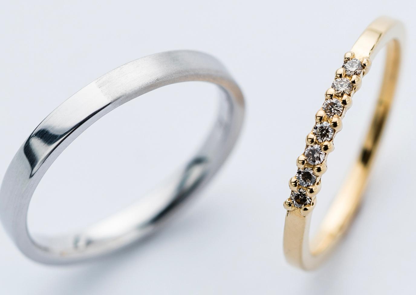 普段から外さずに着けておける結婚指輪の素材
