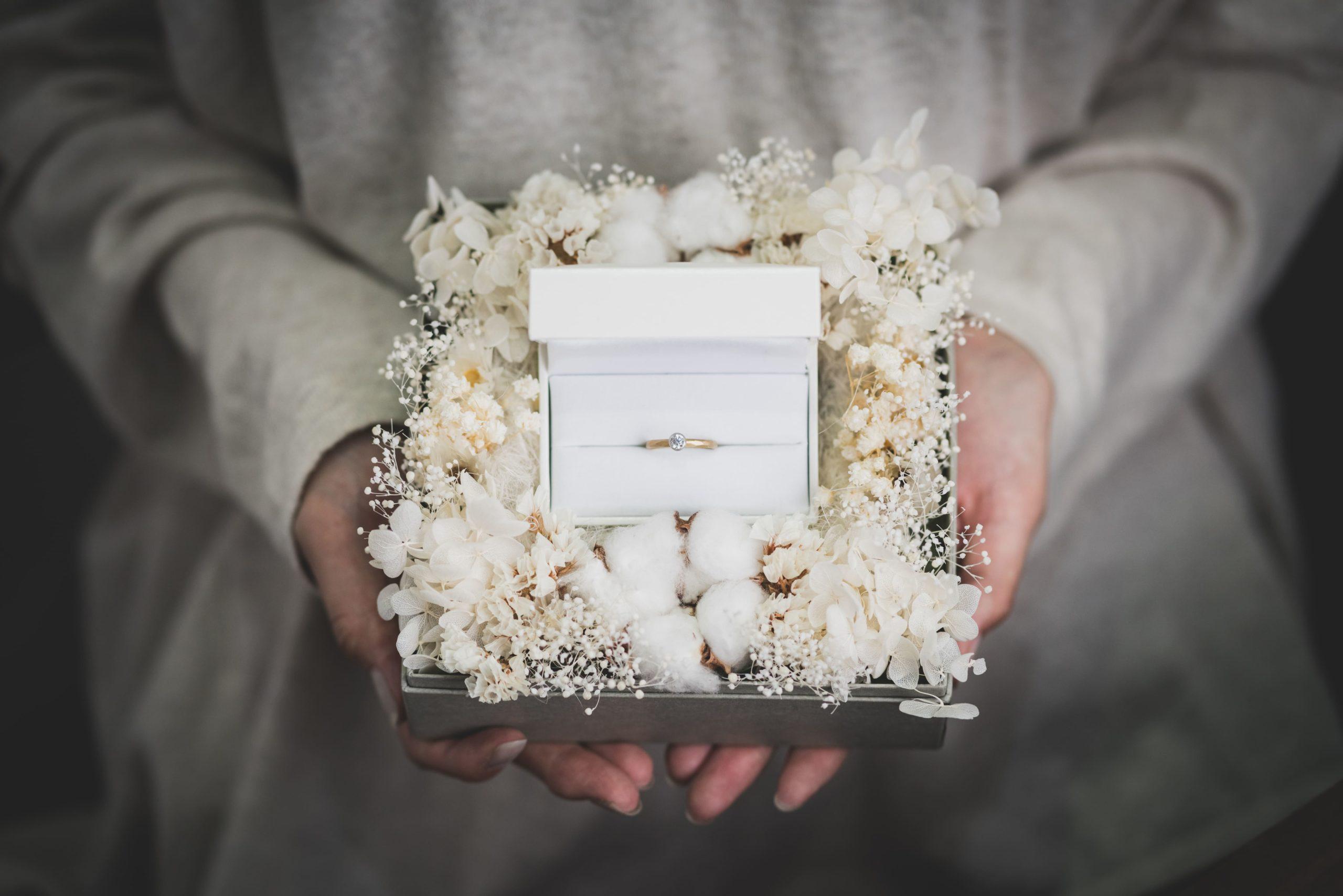 婚約指輪の年代別相場観