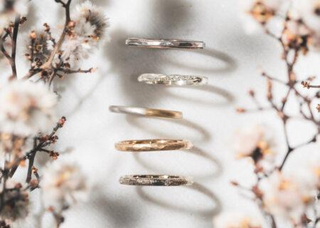毎日身に付けやすいシンプルな結婚指輪