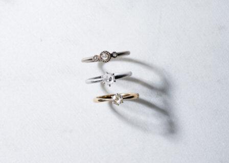 婚約指輪の素材別価格帯まとめ